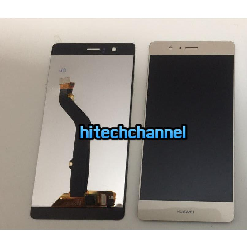 TOUCH SCREEN LCD DISPLAY HUAWEI ASCEND P9 LITE GOLD ORO originale+BIADESIVO