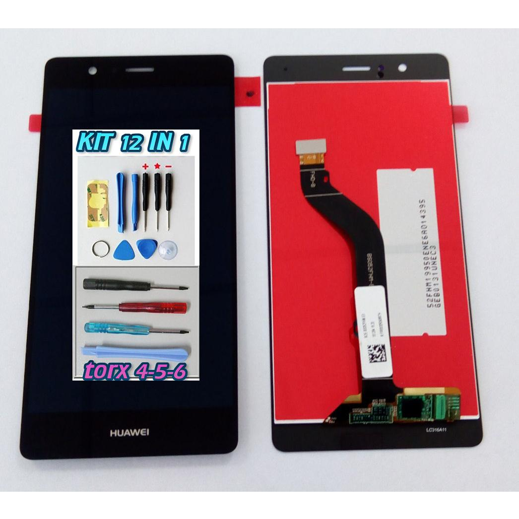 Touch Screen LCD Display Huawei Ascend P9 Lite NERO +kit 12 in 1+ Biadesivo