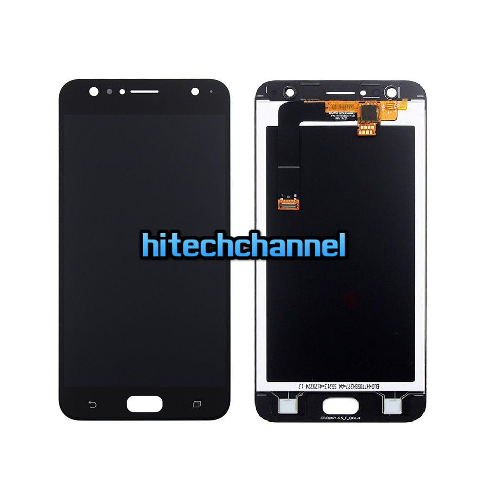 TOUCH SCREEN LCD DISPLAY NERO ASUS ZENFONE 4 Selfie ZD553KL X00LD+ biadesivo top