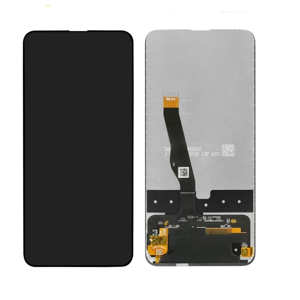 Touch screen lcd display nero per huawei P SMART Z Y9s STK-LX1 STK-LX2 STK-L21+kit biadesivo e colla b7000
