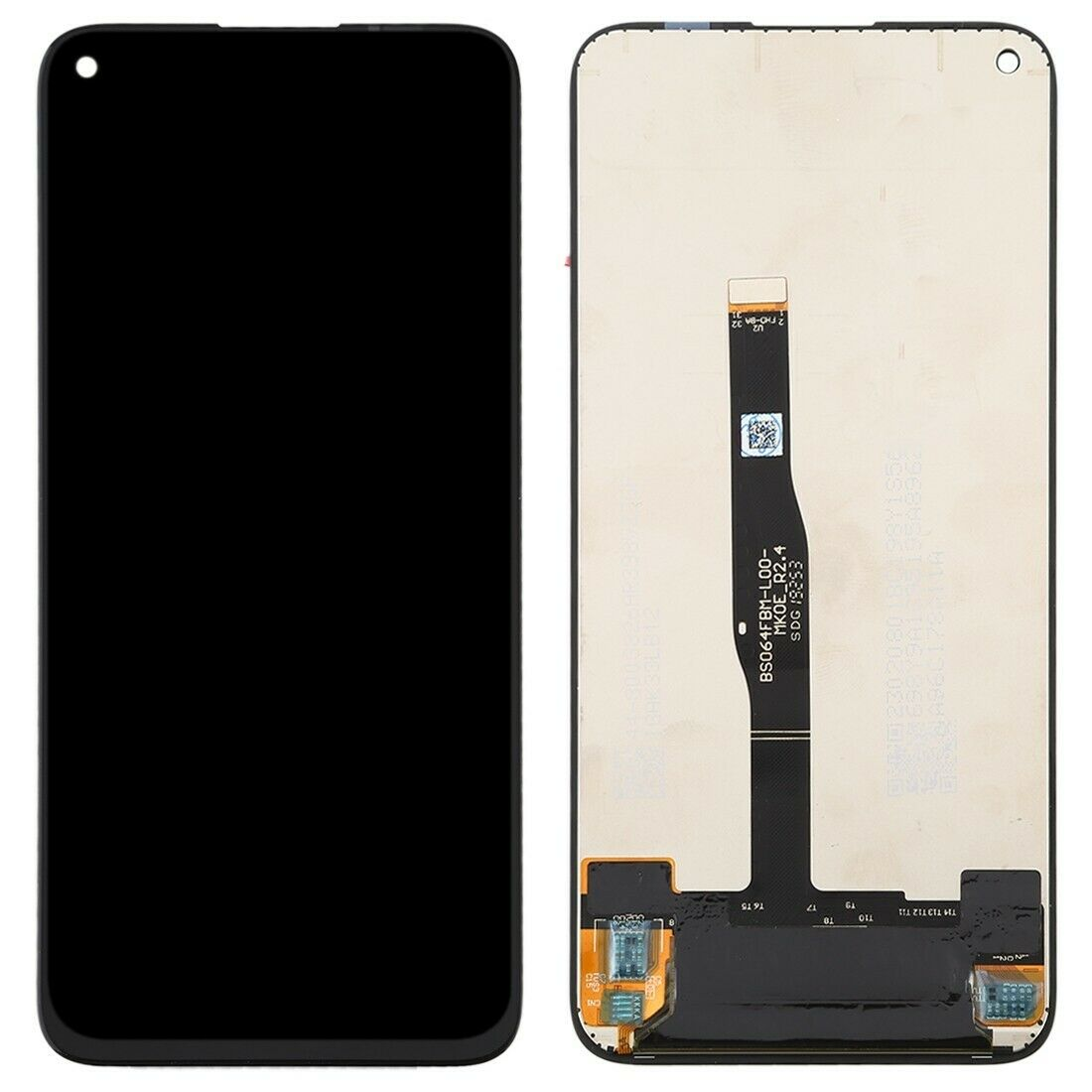 Touch screen lcd display nero per huawei P20 LITE 2019 NOVA 5i GLK-LX1+kit biadesivo e colla b7000