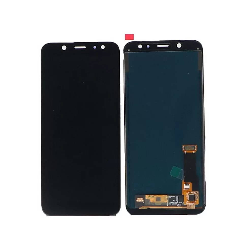 TOUCH SCREEN LCD DISPLAY NERO Samsung Galaxy A6 2018 A600 SM-A600F+kit 9 in 1 biadesivo e colla b7000