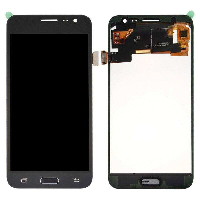 TOUCH SCREEN LCD DISPLAY NERO Samsung Galaxy J3 2016 J320 SM-J320FN + kit 9 in 1 biadesivo e colla B7000
