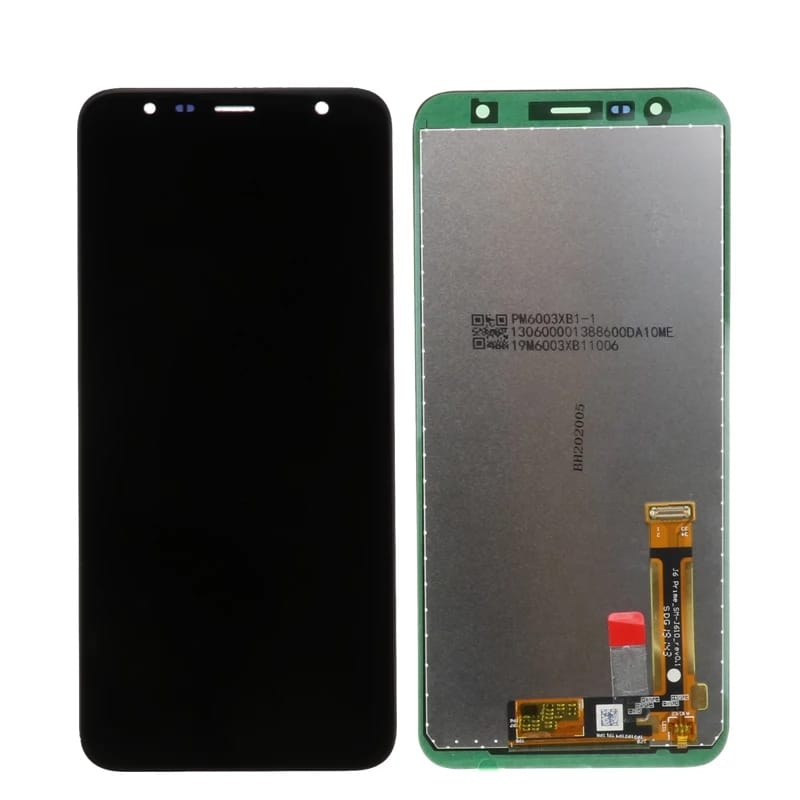 TOUCH SCREEN LCD DISPLAY NERO Samsung Galaxy J6+ J6 PLUS 2018 J610 SM-J610DS J610FN +kit 9 in 1 biadesivo e colla b7000