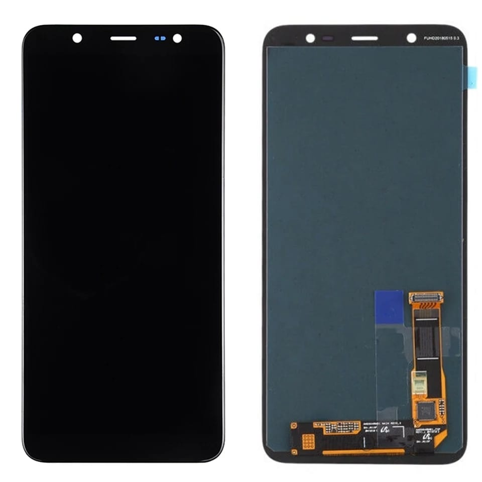 TOUCH SCREEN LCD DISPLAY NERO Samsung Galaxy J8 2018 j800f j800y j800fn J810Y J810f j810fn +kit 9 in 1 biadesivo e colla b7000