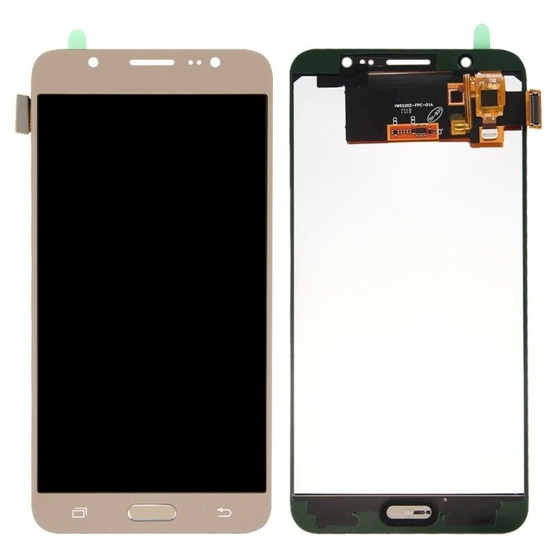 TOUCH SCREEN LCD DISPLAY ORO GOLD Samsung Galaxy J7 2016 J710 SM-J710FN + kit 9 in 1 biadesivo e colla B7000