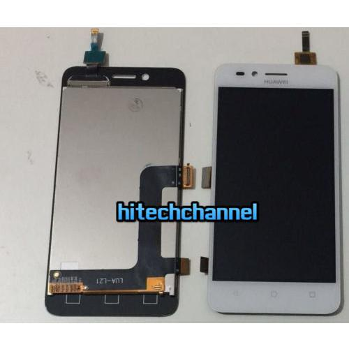 Touch screen LCD display frame per HUAWEI y3 II y3 2 4G bianco originale+biadesivo