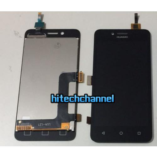 Touch screen LCD display frame per HUAWEI y3 II y3 2 4G nero  originale+biadesivo