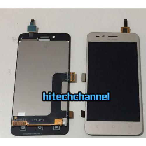 Touch screen LCD display frame per HUAWEI y3 II y3 2 4G oro originale+biadesivo