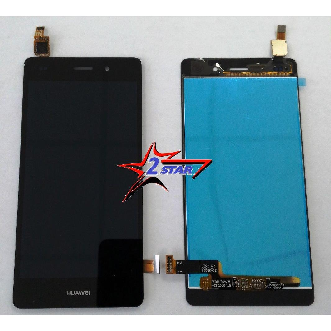 Touch screen lcd display per Huawei P8 Lite Nero   + Biadesivo