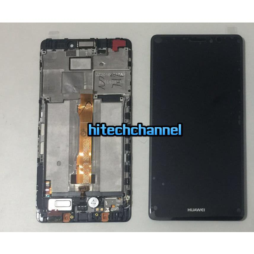 TOUCH SCREEN LCD frame  DISPLAY nero  HUAWEI MATE S CRR-L09 CRR-UL00 originale+BIADES