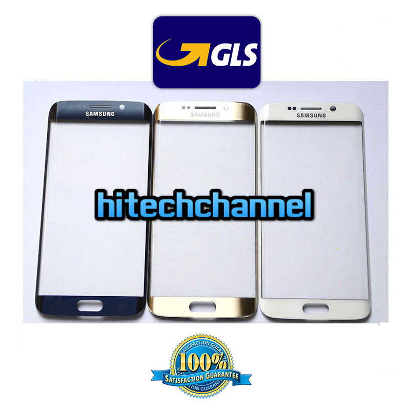 vetro glass per touch screen SAMSUNG GALAXY S6 EDGE G925 G925F