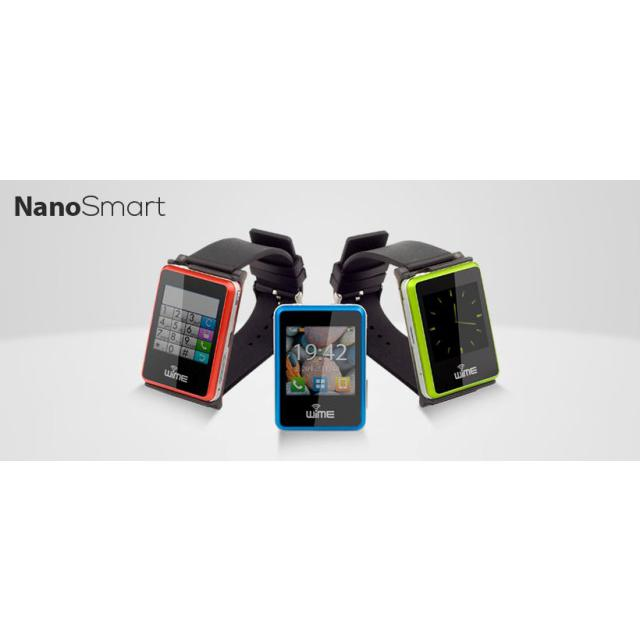 WIME Smart Watch Phone NanoSmart Bluetooth iOS e Android