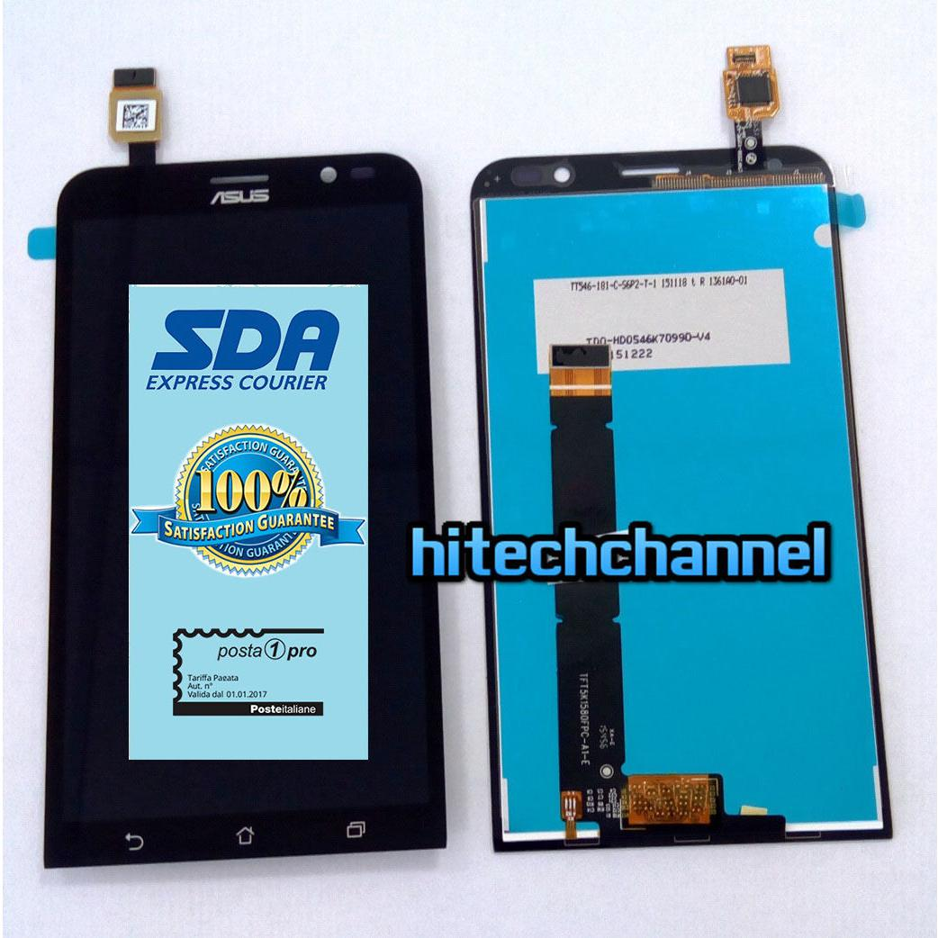 Touch screen vetro lcd display per ASUS ZENFONE GO ZB551KL X013D +biadesivo+kit montaggio