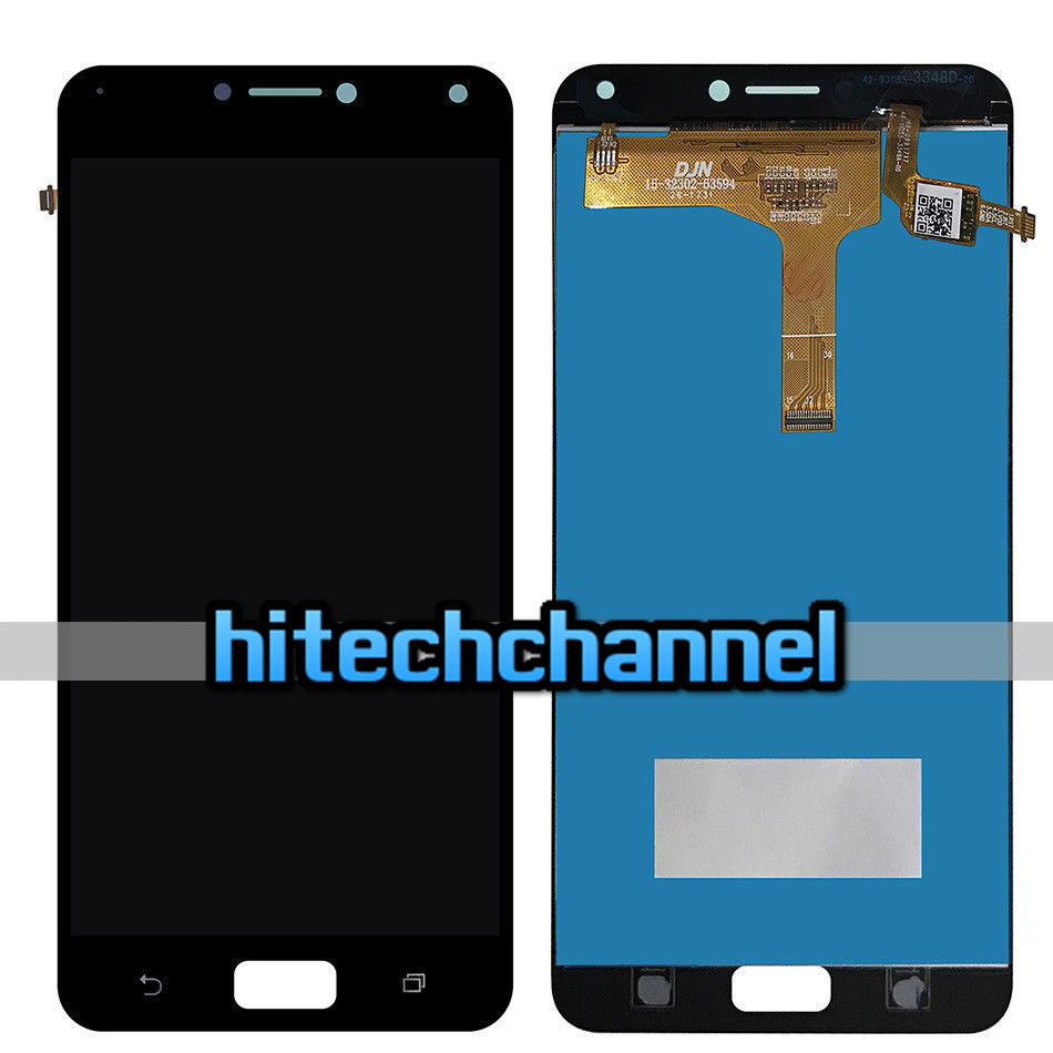 TOUCH SCREEN LCD DISPLAY NERO ASUS ZENFONE 4 MAX ZC554KL+ biadesivo +kit montaggio